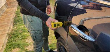 Autó állapotfelmérés festék rétegvastagság mérés