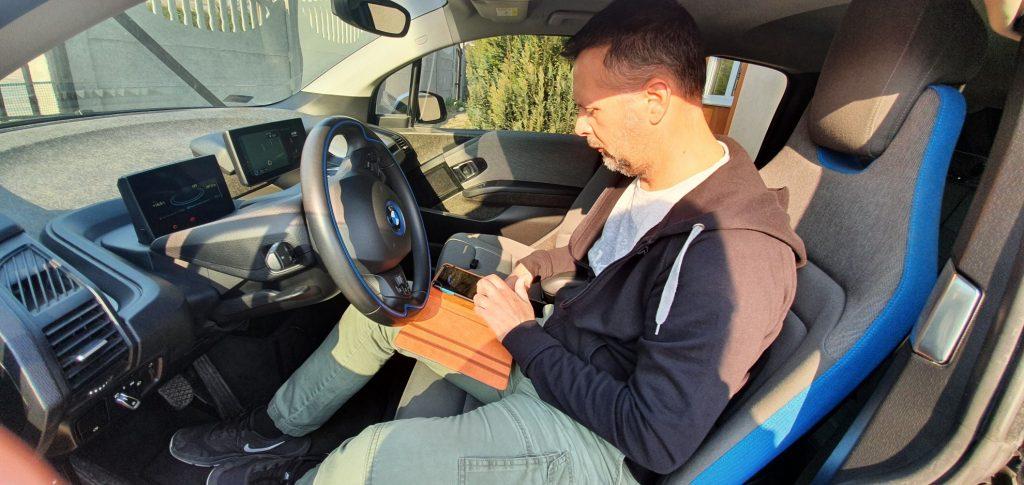 Elektromos BMW i3 diagnosztika, átvizsgálás